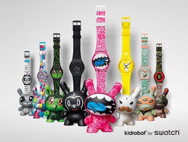 Swatch Kidrobot Watch