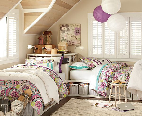 50 room design ideas for teenage girls style motivation - Girl teenage room designs ...