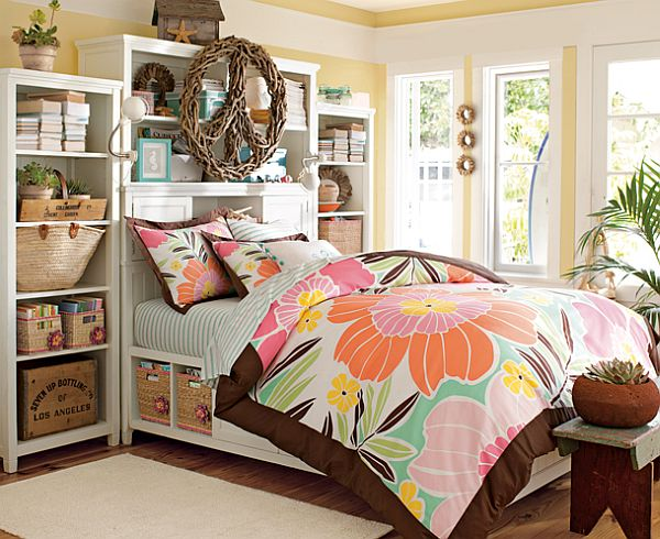 50 room design ideas for teenage girls style motivation for Chic bedroom ideas for teenage girls