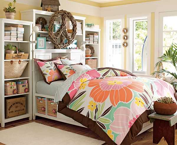 50 room design ideas for teenage girls style motivation for Decorating teenage girl bedroom ideas