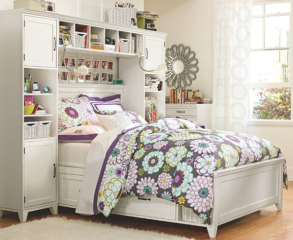 50 room design ideas for teenage girls style motivation - Small room ideas for teenage girl ...