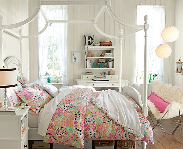 50 room design ideas for teenage girls style motivation - Teenage girls rooms ...