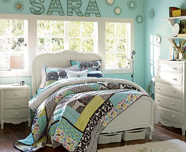 50 room design ideas for teenage girls style motivation - Teenage girl bedroom decorations ...