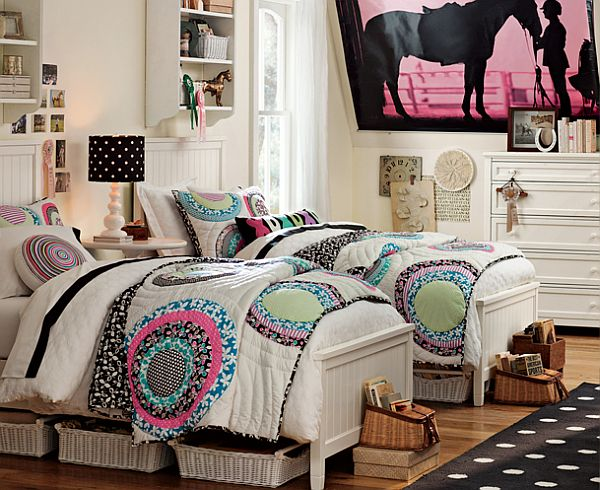 50 room design ideas for teenage girls style motivation. Black Bedroom Furniture Sets. Home Design Ideas