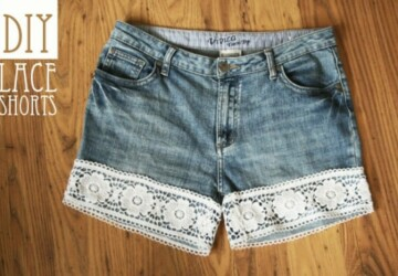 15 DIY Jeans And Denim Shorts For Spring And Summer -