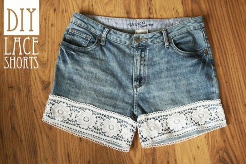 15 DIY Jeans And Denim Shorts For Spring And Summer