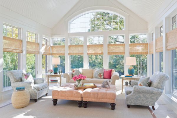 30 Sunroom Design Ideas - Style Motivation