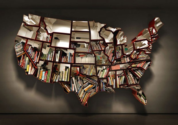 Awesome Modern Bookshelves for Your Home