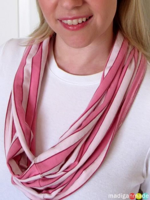 Light Spring DIY Scarfs