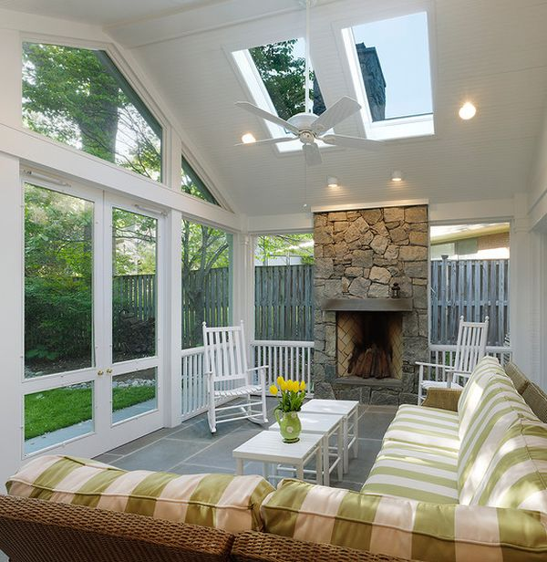 Porch Pictures For Design And Decorating Ideas: 30 Sunroom Design Ideas
