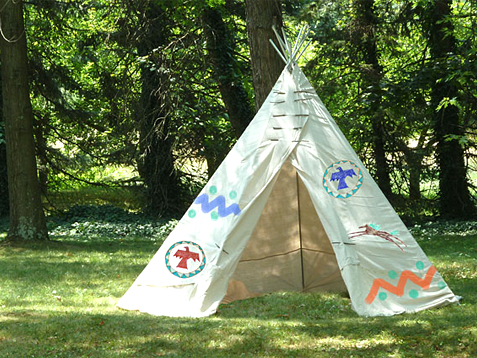 Backyard-Tepee