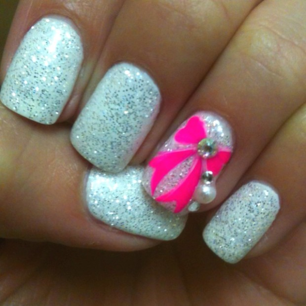 Nails-with-bows-5