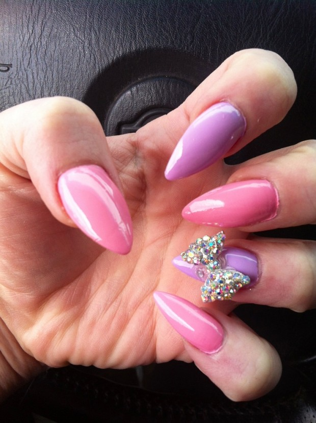 Nails-with-bows-7