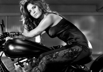 Isabeli Fontana - Redemption Choppers Spring 2013 -