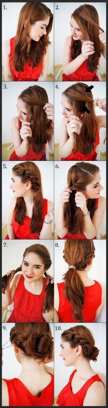 Hairstyles for Hot Summer Days