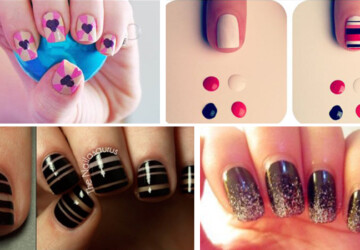38 Interesting  Nail Art Tutorials - tutorials, Nails art, nail, interesting nail art