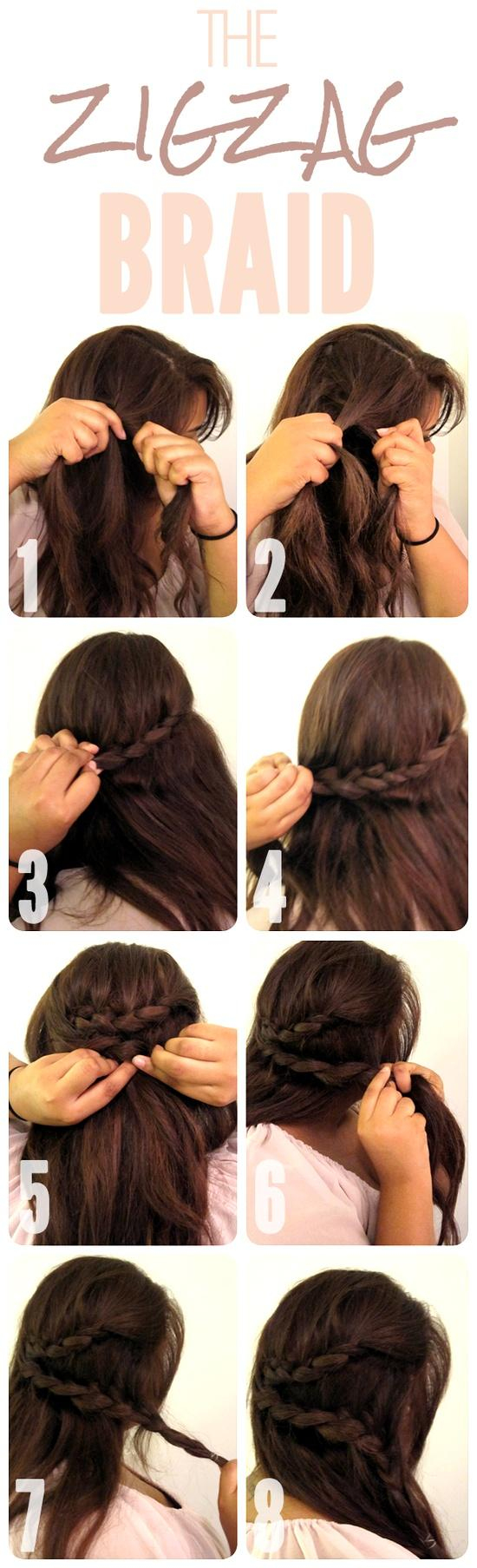 Christmas Hairstyles Easy.32 Amazing And Easy Hairstyles Tutorials For Hot Summer Days