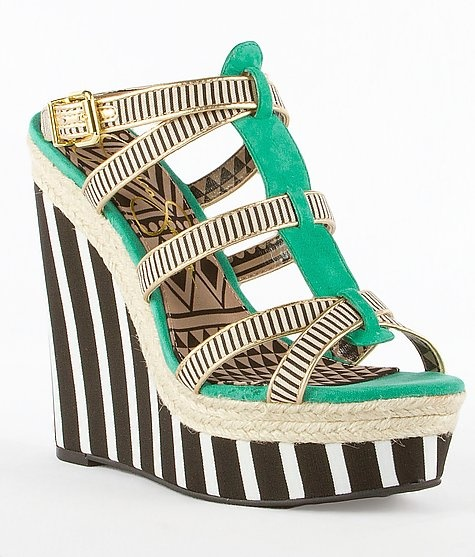 25 Amazing  Wedge Sandals for This Summer (8)