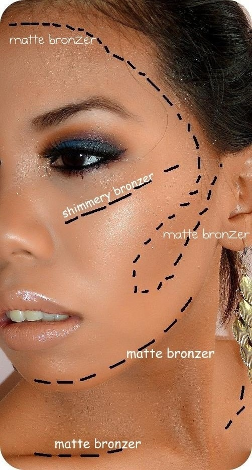 Photos Tips Gorgeous Makeup Ideas Bronzer