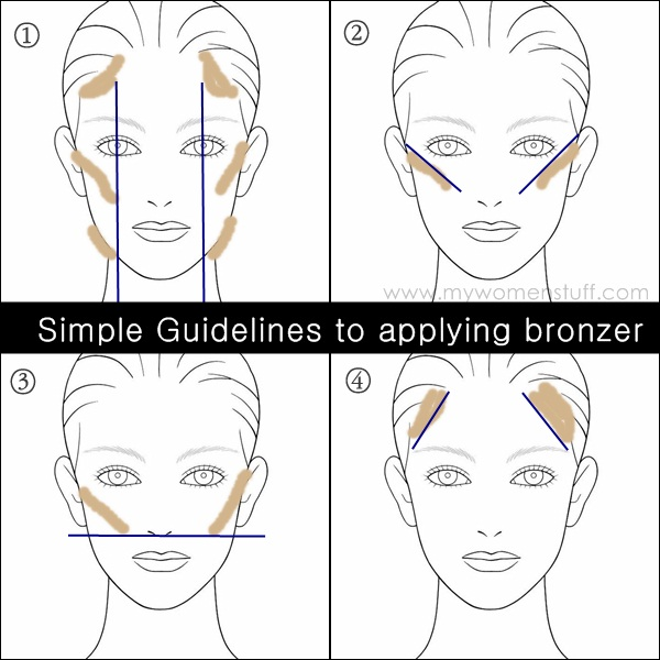 29 Photos of Tips and Gorgeous Makeup Ideas with Bronzer for The Summer (17)