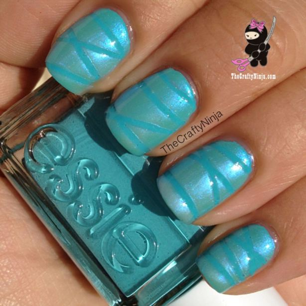 Diy nail art ideas using scotch tape best nails 2018 32 amazing diy nail art ideas using scotch tape style motivation prinsesfo Choice Image