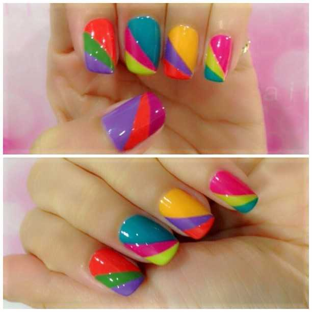 Easy nail art designs with scotch tape best nails 2018 32 amazing diy nail art ideas using scotch tape o guys today we are going to share a diy nail art with no prinsesfo Choice Image