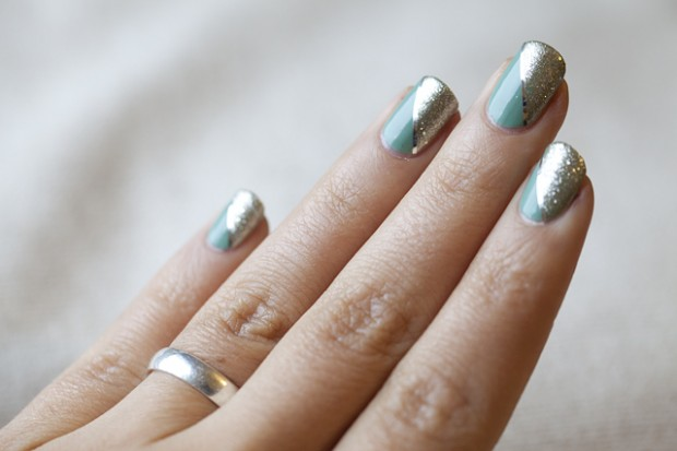 32 Amazing Diy Nail Art Ideas Using Scotch Tape Style Motivation