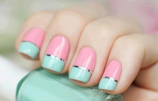 32 Amazing DIY Nail Art Ideas Using Scotch Tape - Style Motivation