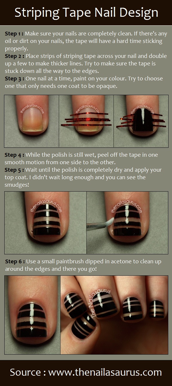39 Interesting Nail Art Tutorials (1)