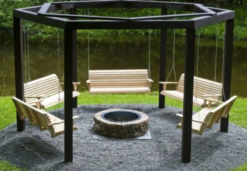10 DIY Outdoor Furniture Pieces -