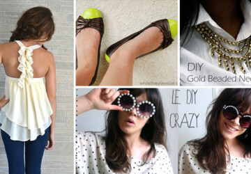 34 Creative and Useful DIY Fashion Ideas - Useful, ideas, fashion, diy