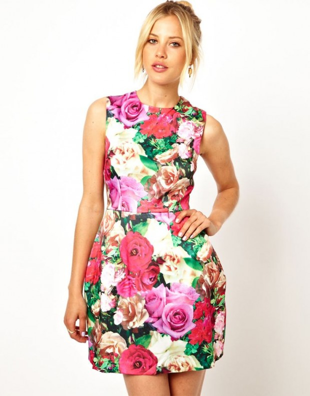 The Hottest Trend for Summer Floral Print (8)