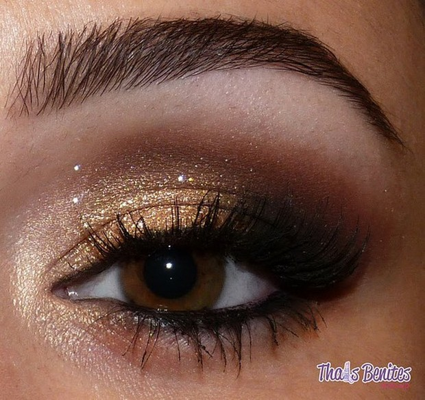 Natural Brown Smokey Eye