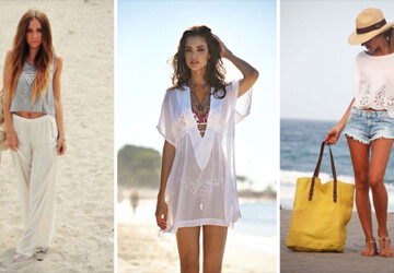 30 Great Beach Outfit Ideas and Beach Accessories - Outfit ideas, beach accessories, beach