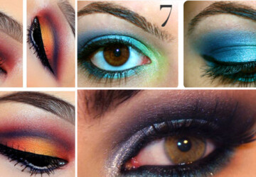 30 Glamorous Eye Makeup Ideas for Dramatic Look - Glamorous, Eye-Makeup, Dramatic Look