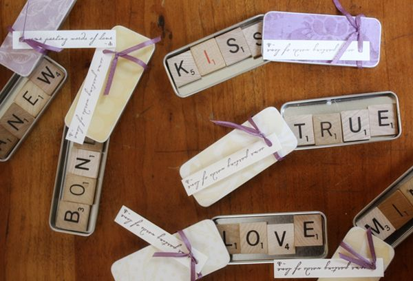 Creative Wedding Gift Ideas To Make: 16 Easy-To-Make Wedding Favor Ideas