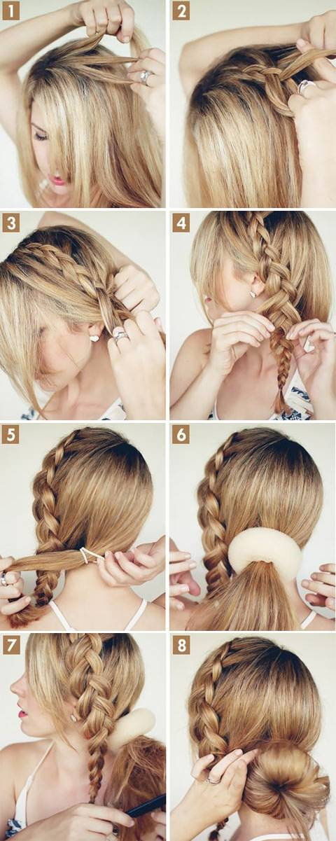 20 Amazing Braided Hairstyles Tutorials Style Motivation