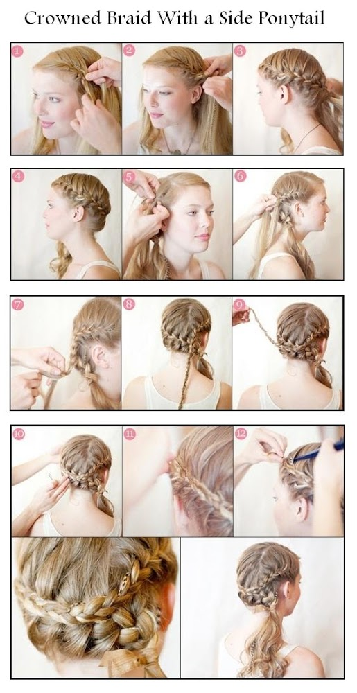 Brilliant 20 Amazing Braided Hairstyles Tutorials Style Motivation Short Hairstyles Gunalazisus