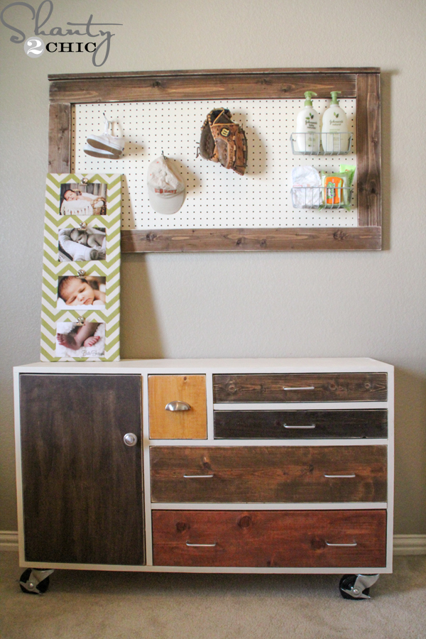 Wood Storage Shelves