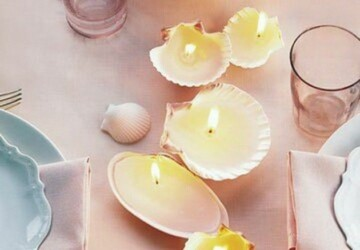 22 Amazing DIY Candles and Candle Holders Ideas - diy, Candles, Candle Holders