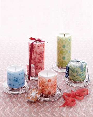 22 amazing diy candles and candle holders ideas style for How to make christmas candle holders
