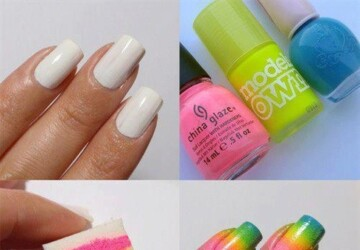 23 New Nails Tutorials You Have To Try - tutorials, new, nails, Easy