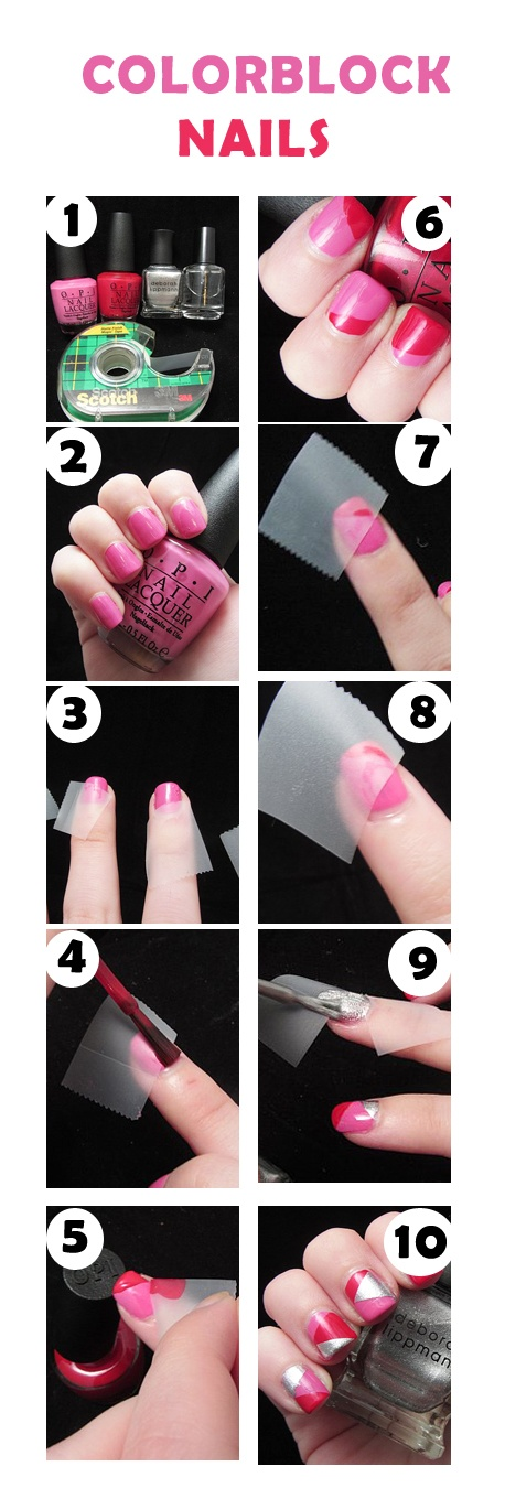 22 New Nails Tutorials you have to try (5)