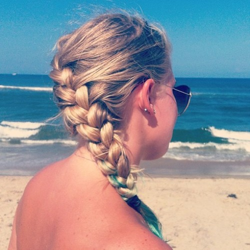 23 Gorgeous and Easy Beach Hairstyles (4)