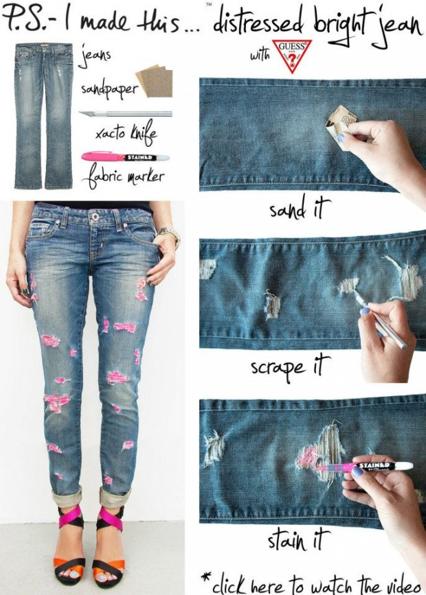 24 stylish diy clothing tutorials - Clothing Design Ideas