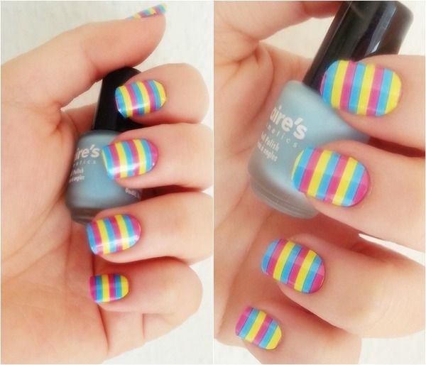 25 Cool Colorful Nail Art Ideas (10)