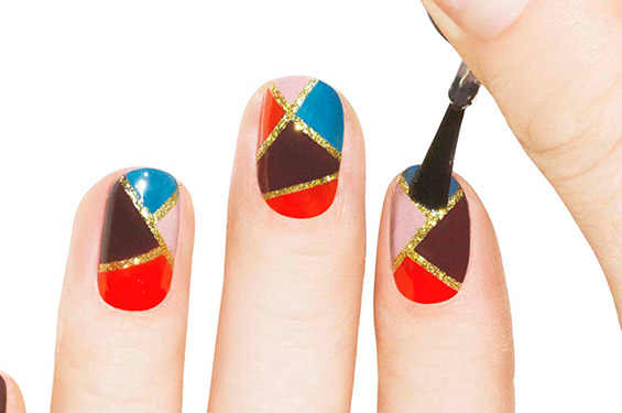25 Cool Colorful Nail Art Ideas (11)