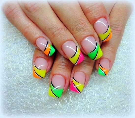 25 Cool Colorful Nail Art Ideas (12)