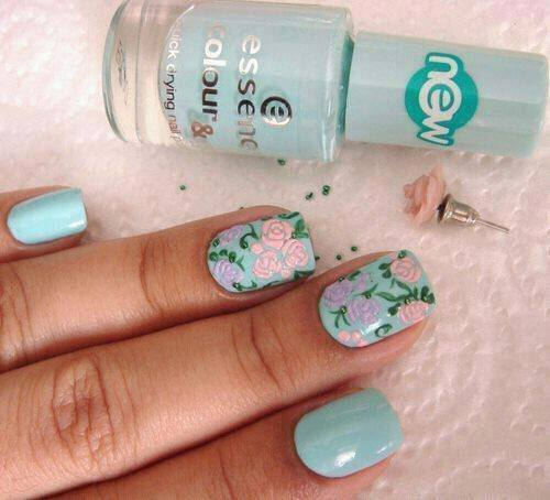 25 Cool Colorful Nail Art Ideas (18)