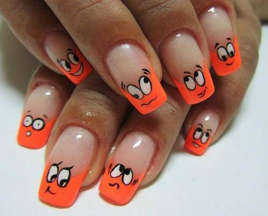 25 Cool Colorful Nail Art Ideas (19)